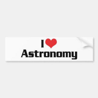 I Love Heart Astronomy - Star Watcher Bumper Sticker