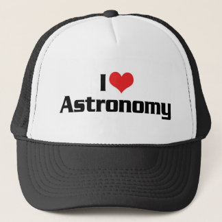 I Love Heart Astronomy - Star Watcher Trucker Hat