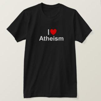 I Love (Heart) Atheism T-Shirt