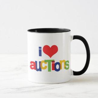 I Love Heart Auctions Mug
