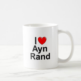 I Love (Heart) Ayn Rand Coffee Mug