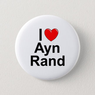 I Love (Heart) Ayn Rand Pinback Button
