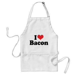 I Love Heart Bacon - Bacon Lover Adult Apron