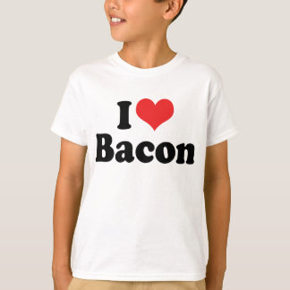 I Love Heart Bacon - Bacon Lover T-Shirt