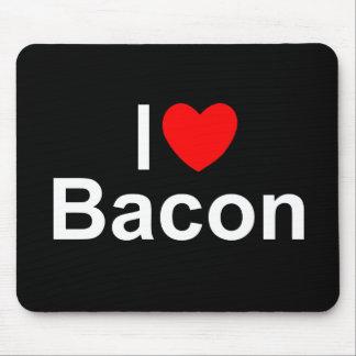 I Love (Heart) Bacon Mousepad