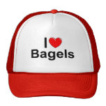 I Love (Heart) Bagels Trucker Hat