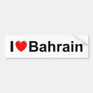 I Love Heart Bahrain Bumper Sticker
