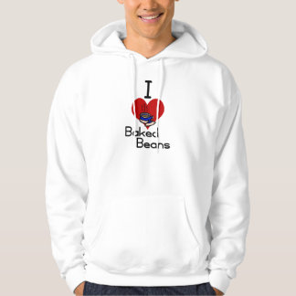 I love-heart baked beans hoodie