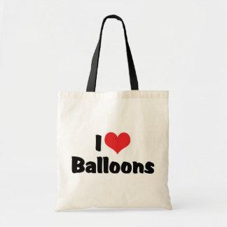 I Love Heart Balloons Tote Bag