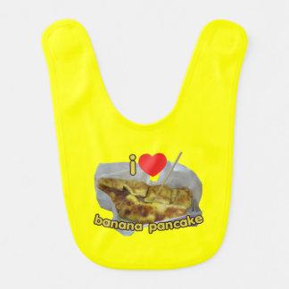 I Love (Heart) Banana Pancake ... Thai Street Food Bib