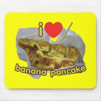 I Love (Heart) Banana Pancake ... Thai Street Food Mouse Pad