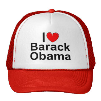 I Love (Heart) Barack Obama Trucker Hat
