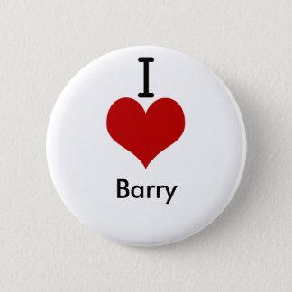 I Love (heart) Barry Button