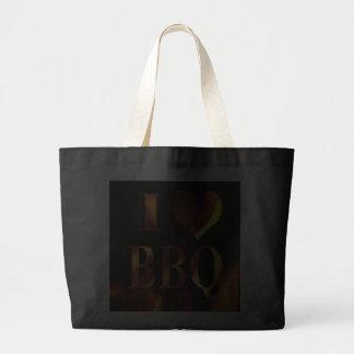I Love (Heart) BBQ Bag