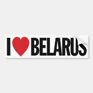 "I Love Heart Belarus 11"" 28cm Vinyl Decal Bumper Sticker"