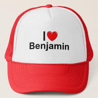 I Love (Heart) Benjamin Trucker Hat