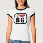 I LOVE/HEART BG  RINGER TEE