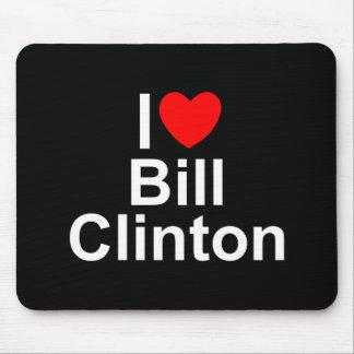 I Love (Heart) Bill Clinton Mouse Pad