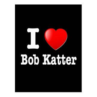 I love (heart) Bob Katter Postcard