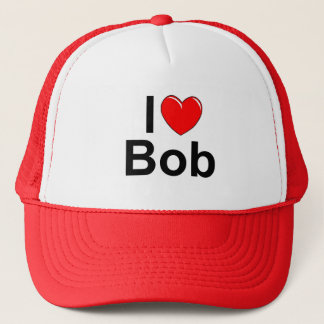 I Love (Heart) Bob Trucker Hat