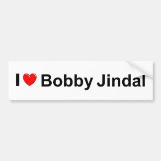 I Love (Heart) Bobby Jindal Bumper Sticker