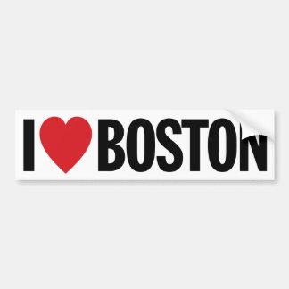 "I Love Heart Boston 11"" 28cm Vinyl Decal Bumper Stickers"