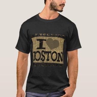 I love (heart) Boston - Vintage Boston 2 T-Shirt