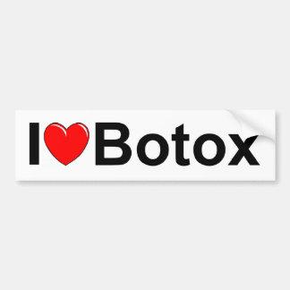 I Love (Heart) Botox Bumper Sticker