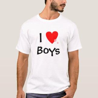 I Love (Heart) Boys T-Shirt