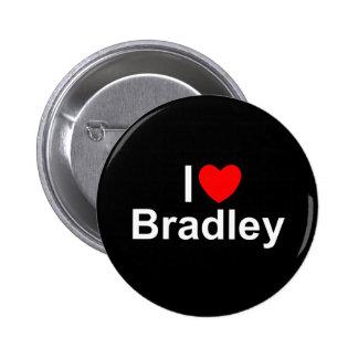 I Love (Heart) Bradley Pinback Button