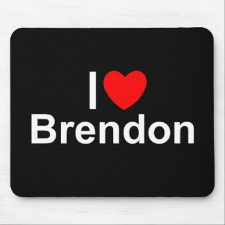 I Love (Heart) Brendon Mouse Pad