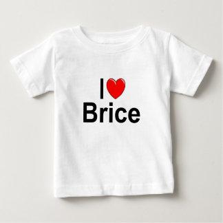 I Love (Heart) Brice Baby T-Shirt