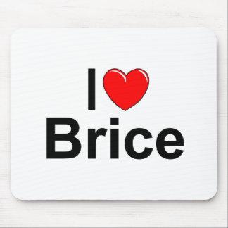 I Love (Heart) Brice Mouse Pad