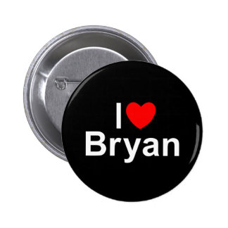 I Love (Heart) Bryan Pins