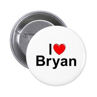 I Love (Heart) Bryan Button