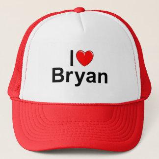 I Love (Heart) Bryan Trucker Hat