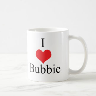 I Love (Heart) Bubbie Coffee Mug