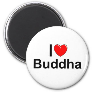 I Love (Heart) Buddha Fridge Magnets