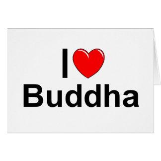I Love (Heart) Buddha Greeting Cards