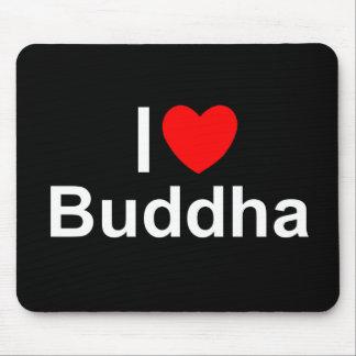 I Love (Heart) Buddha Mouse Pad