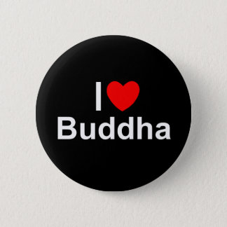 I Love (Heart) Buddha Pinback Button