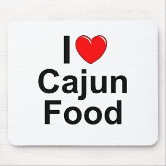 I Love (Heart) Cajun Food Mouse Pad