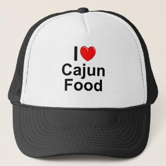 I Love (Heart) Cajun Food Trucker Hat