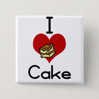 I love-heart cake button