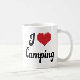 I Love (Heart) Camping Coffee Mug
