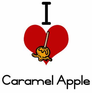 I love-heart caramel apple photo cutout