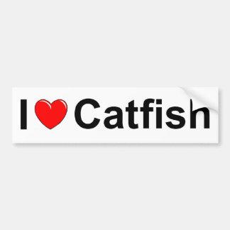 I Love (Heart) Catfish Bumper Sticker