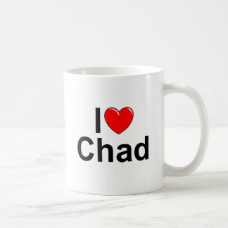 I Love (Heart) Chad Coffee Mug
