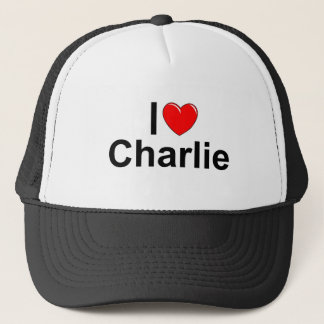 I Love (Heart) Charlie Trucker Hat