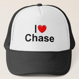 I Love (Heart) Chase Trucker Hat